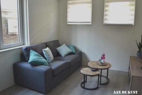comfortabele bank in de woonkamer