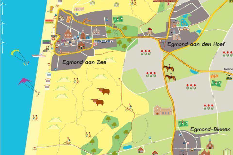 Karte Von.Karte Von Egmond Egmondaanzee Info